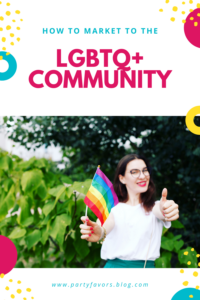 Pinterest graphic: How to market to the LGBTQ+ community