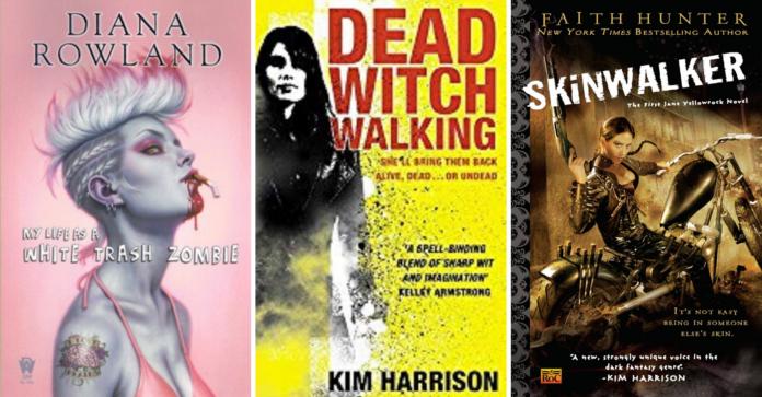Top urban fantasy series to download
