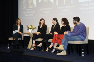 Panel of digital fashion editors at 2017 Fashionista Con