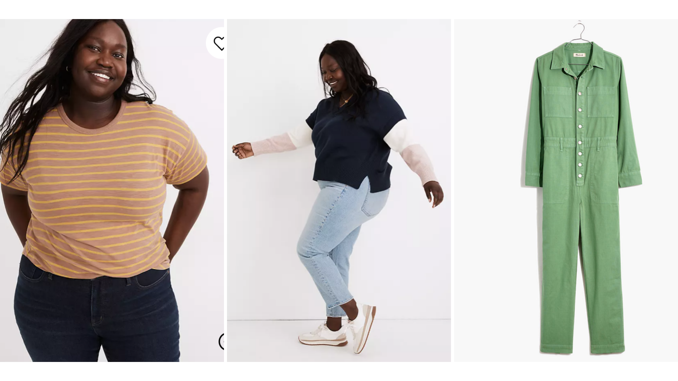 Masculine of center plus size clothing from madewell