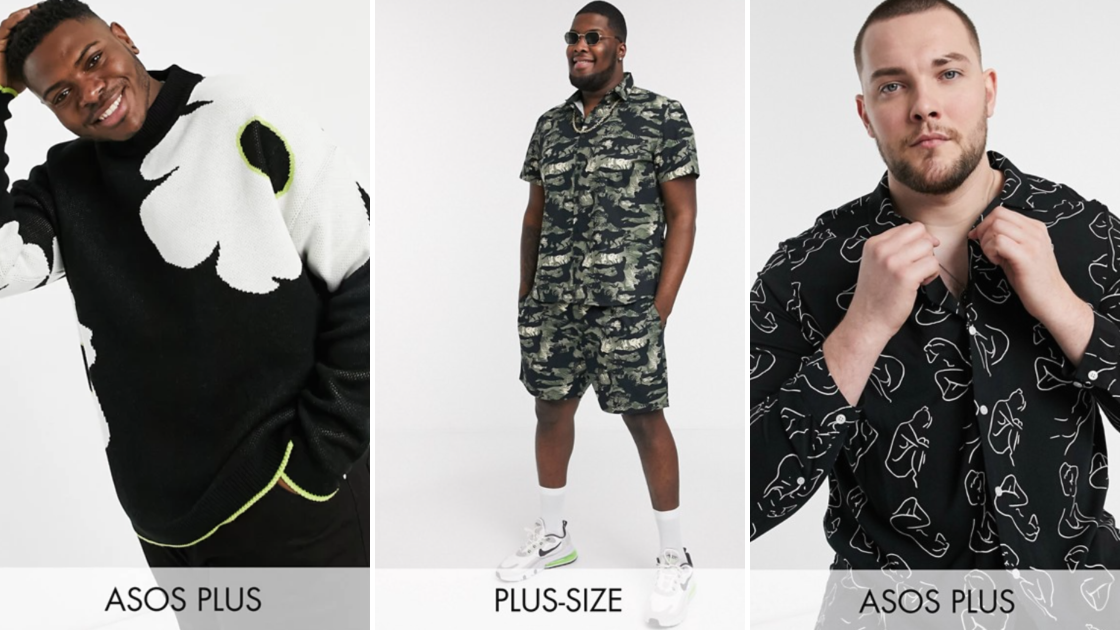 Masculine of center plus size clothing options