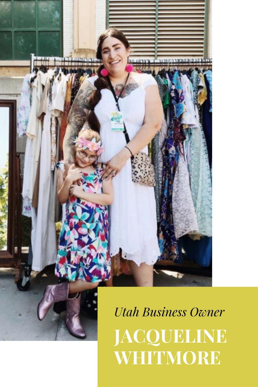 Woman business owner vintage shop Jacqueline Whitmore