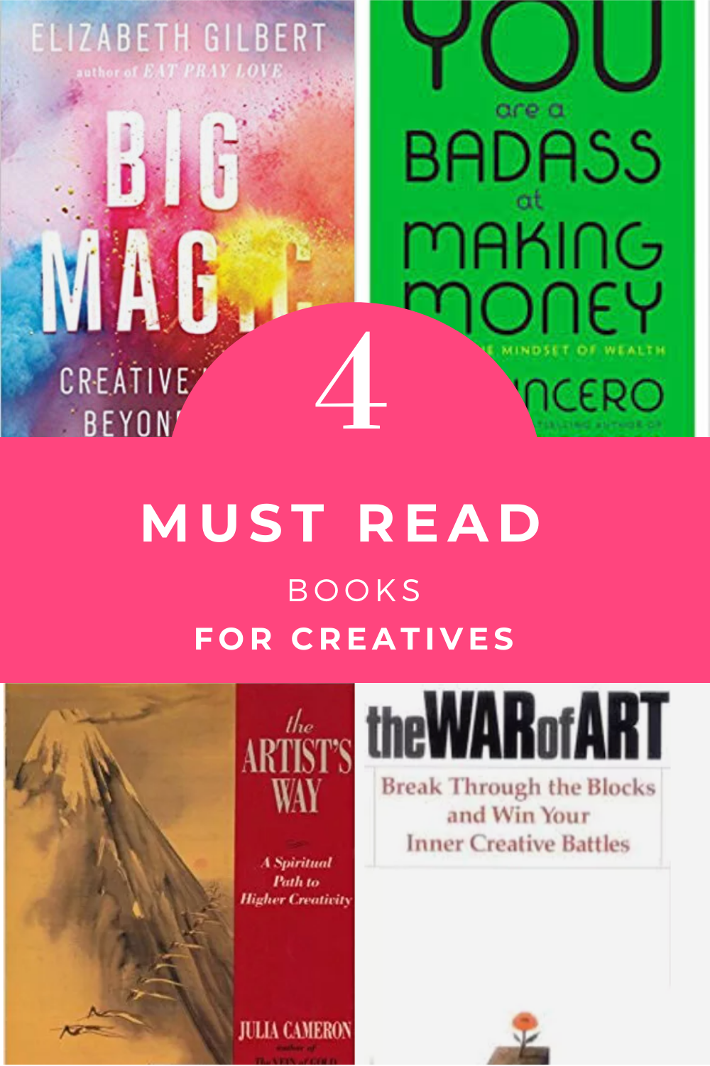 4 must read personal development books for professional creatives