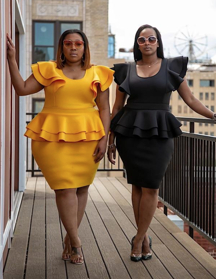 Black owned plus size boutique Honey's child boutique