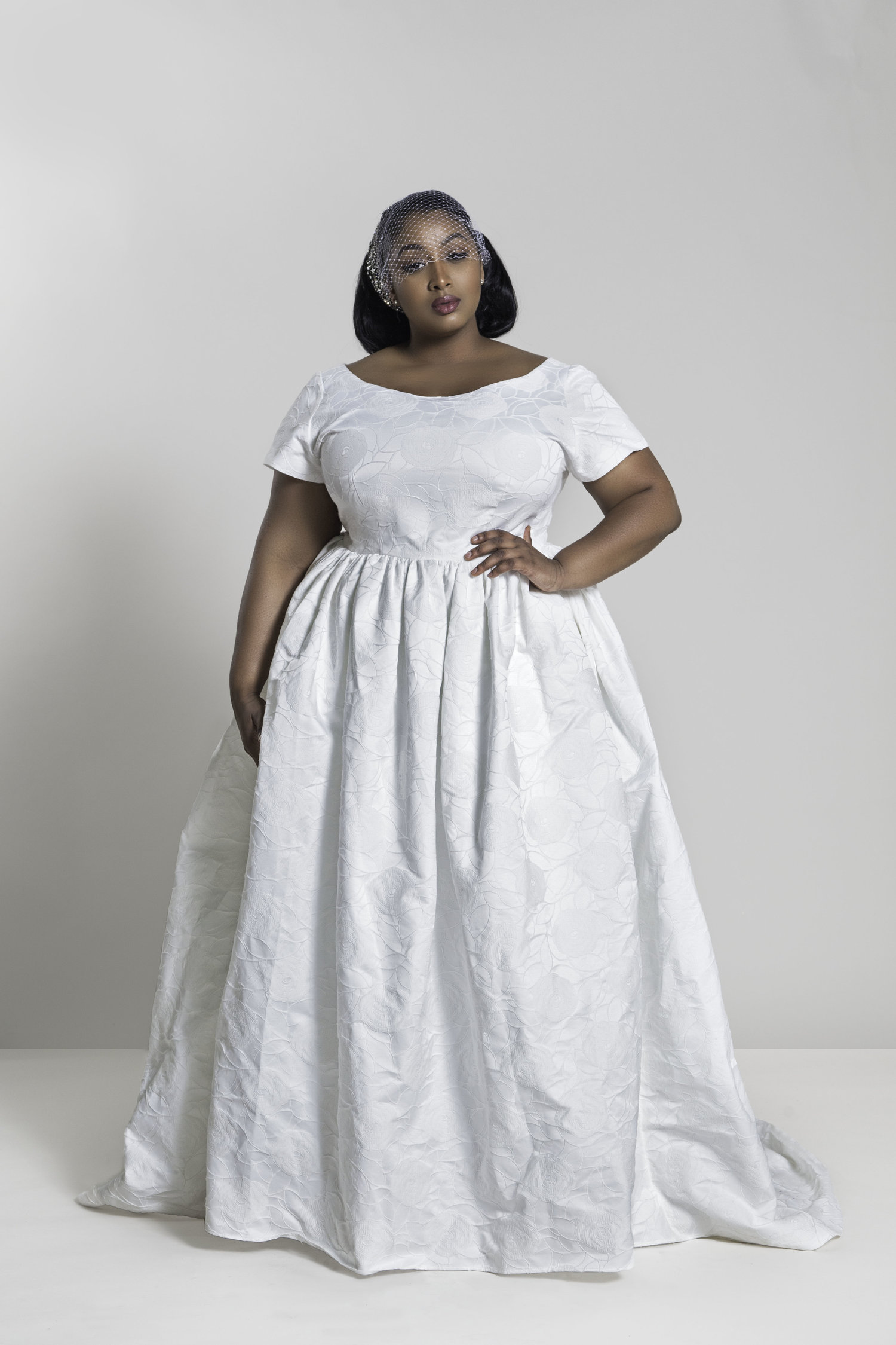Jibri Unique Plus Size Wedding Dress With Pockets The Huntswoman