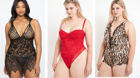 fun and unique plus size lingerie