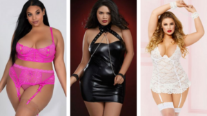 most variety of plus size lingerie options for up to a 3x