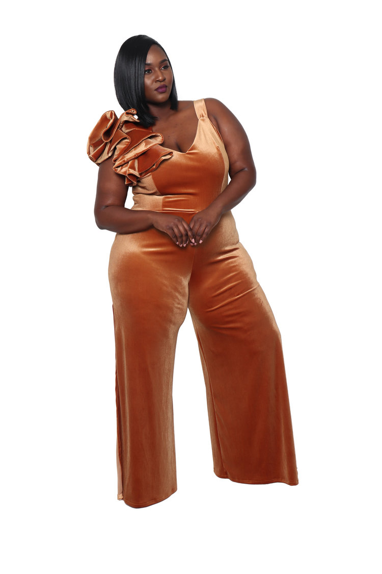 Black owned plus size brand Christian Omehsun