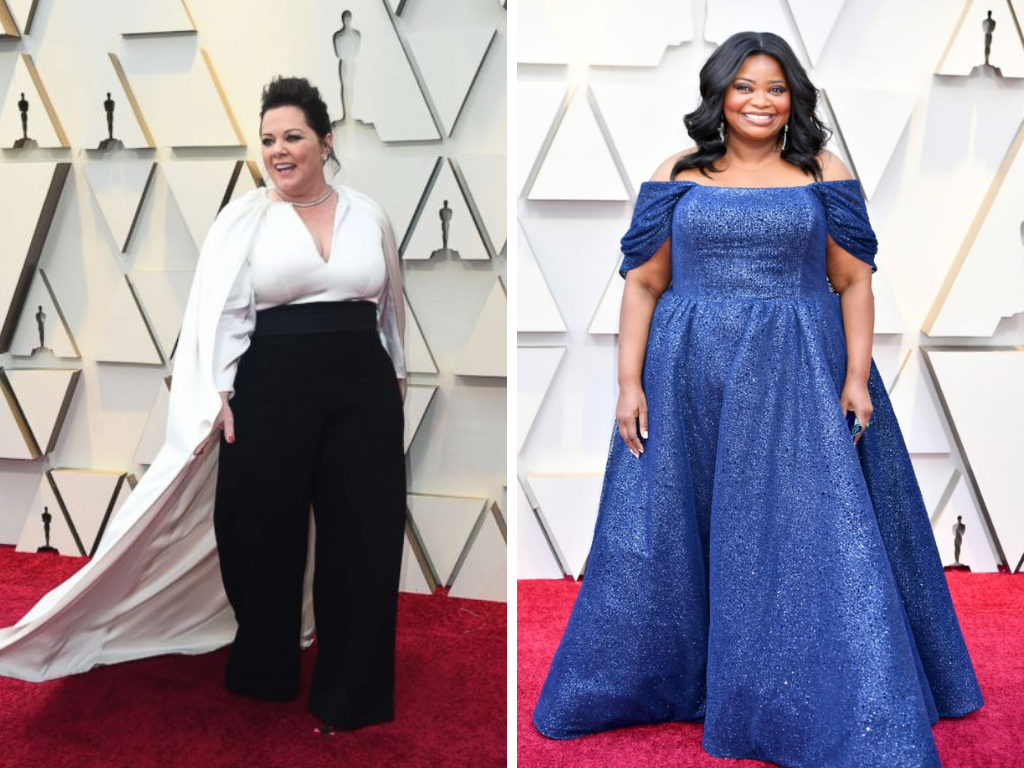 178110bdc5e0 Plus Size Fashion at The Oscars - The Huntswoman
