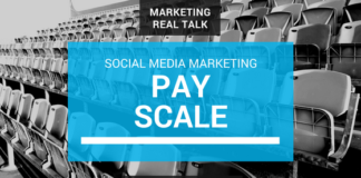 Pay Sclae for social media marketers