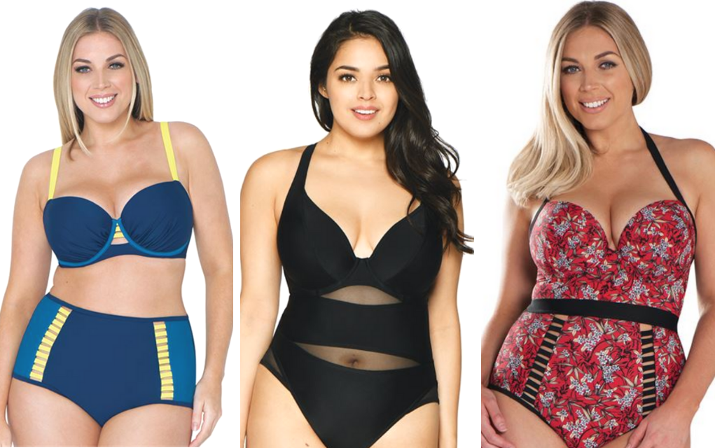 trendy plus size swimsuit from \