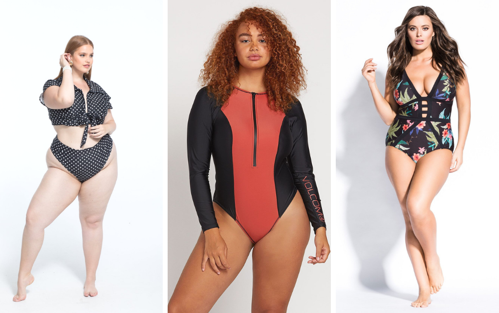 trendy plus size swimsuit from CoEdition