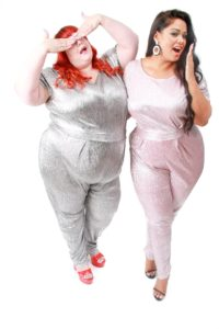 Sparkly jumpsuit to wear for Lizzo concert plus size