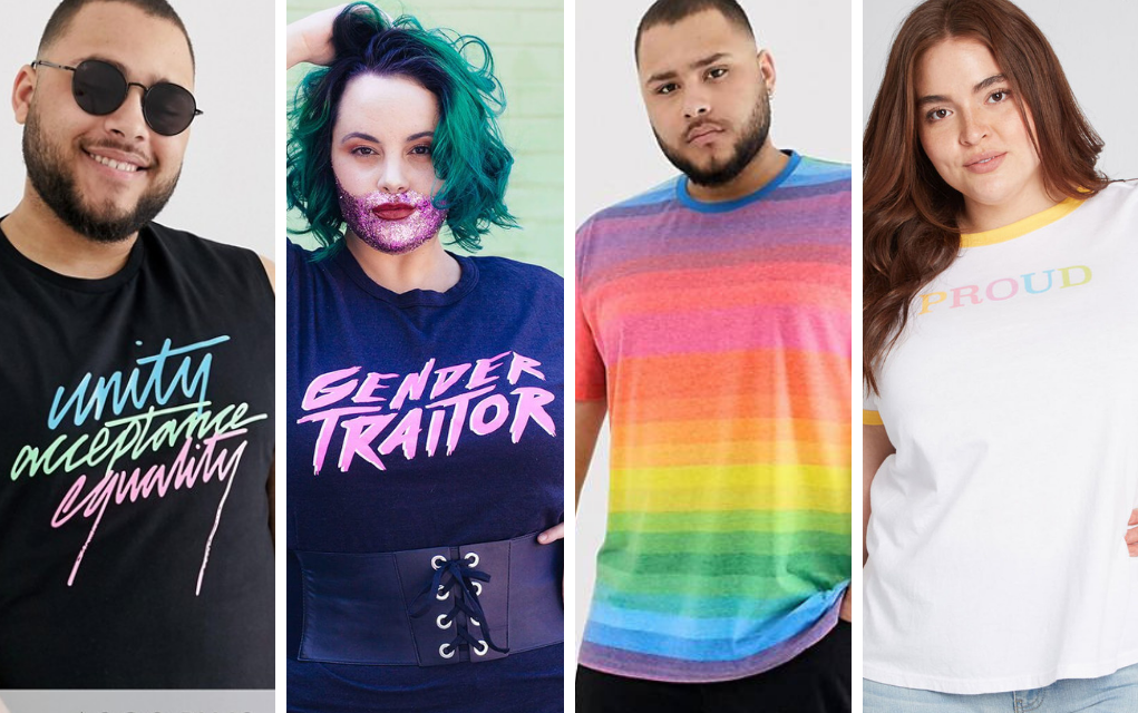e12af6395 Plus Size & Husky LGBT T-Shirts for Pride - The Huntswoman