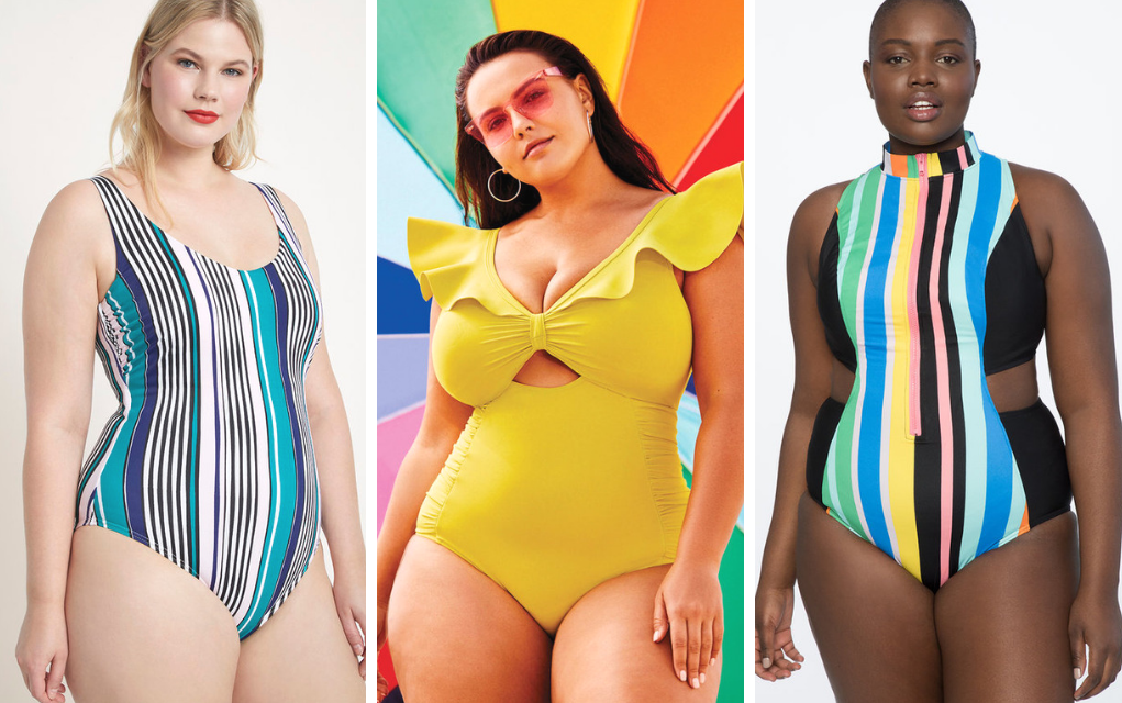 plus size one piece swimsuit from eloquii