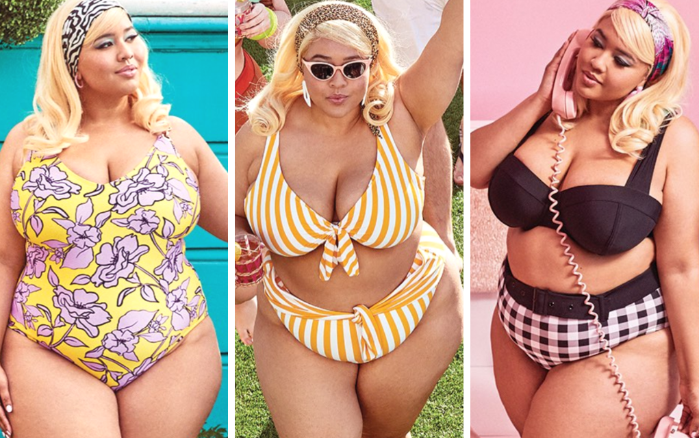 trendy plus size swimsuit from Swimsuits for All