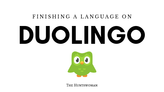 How long does it take to finish a language on Duolingo?