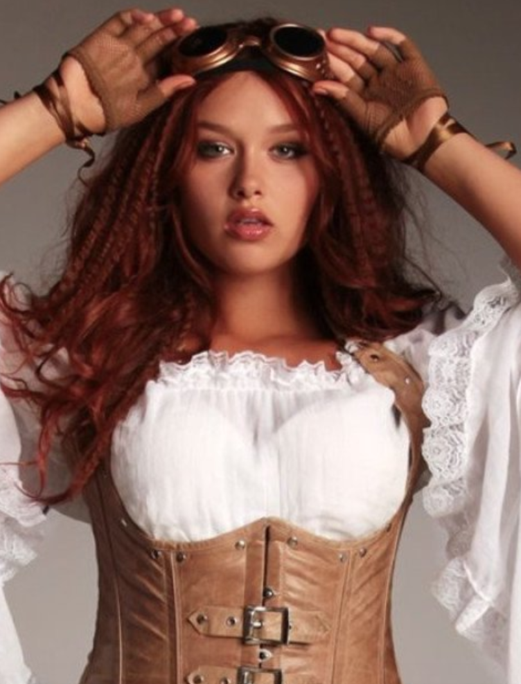 Plus size costume corset