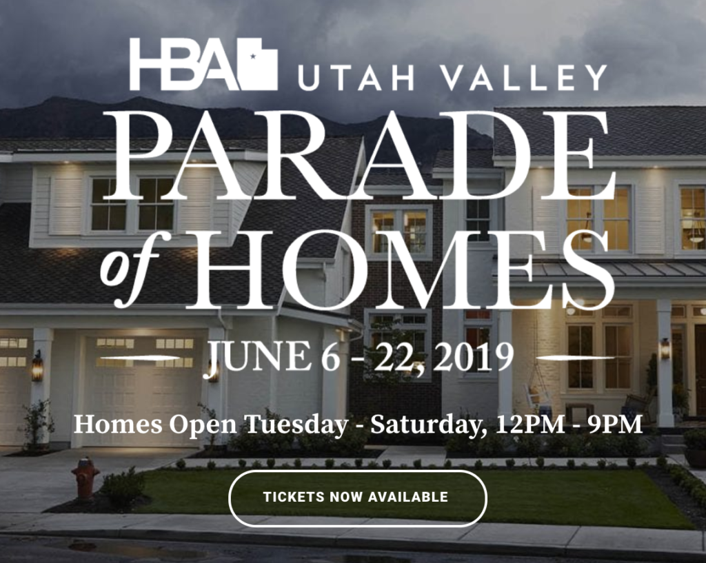 Logo for Utah Valley Parade of Homes