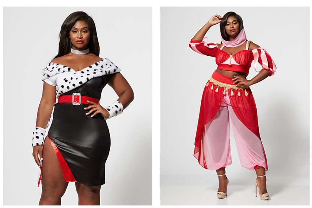 Plus size sexy Halloween costumes from fashion to figure