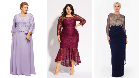 Places to find a flattering plus size mother of the bride gown