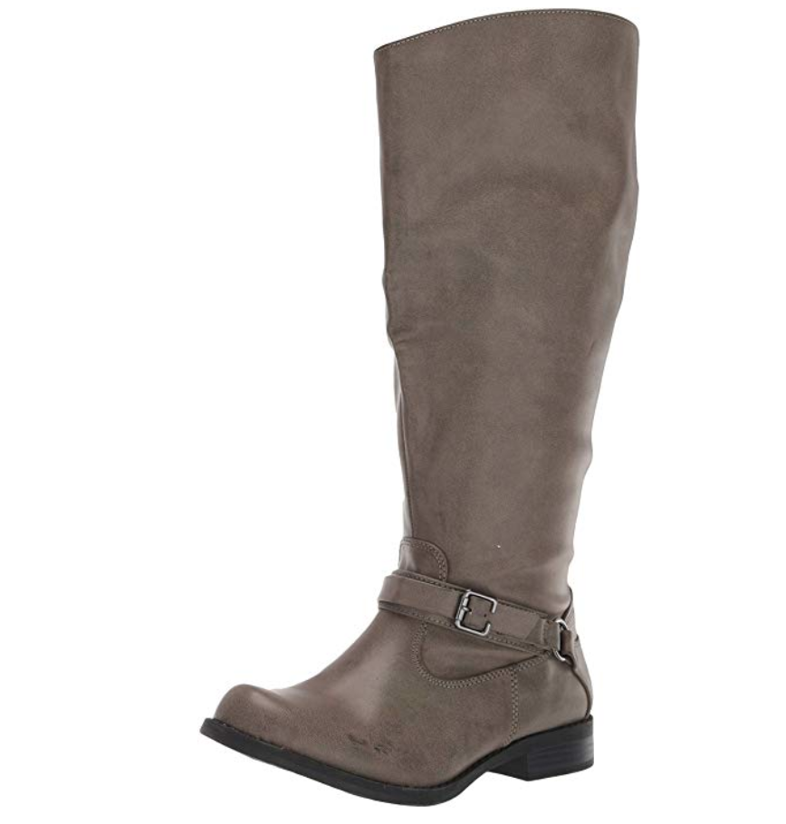 Plus Size Wide Calf Boots