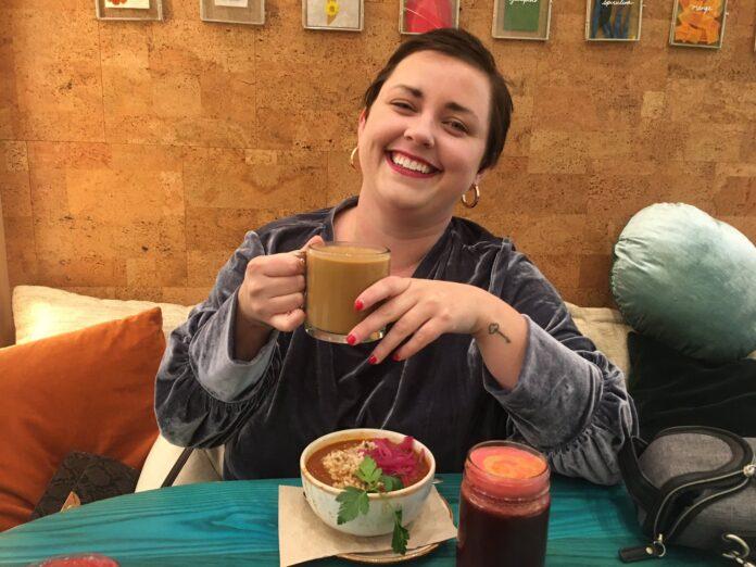 Brianne Huntsman trying bulletproof coffee