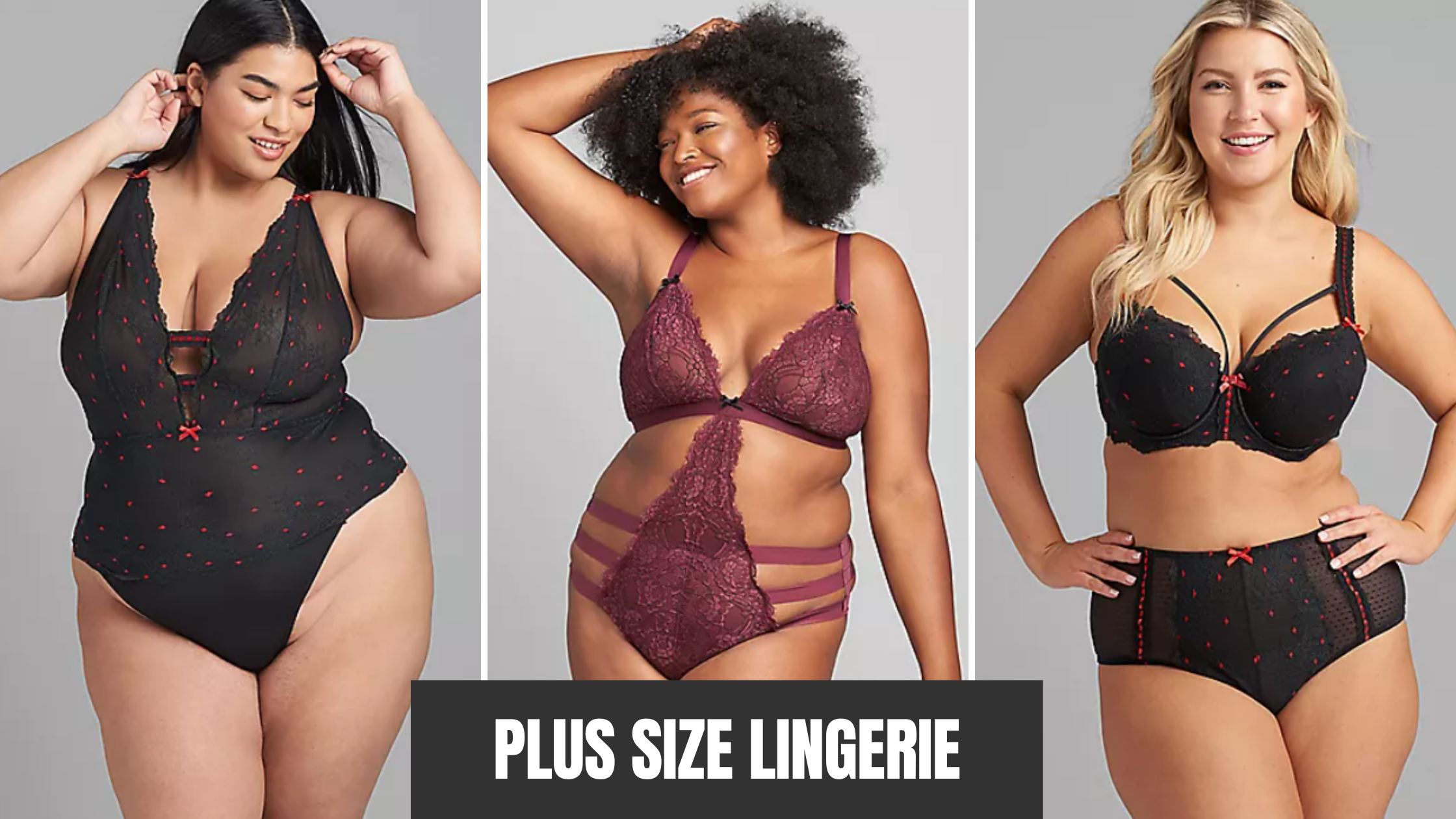 Plus Size Lingerie Brand with teddies