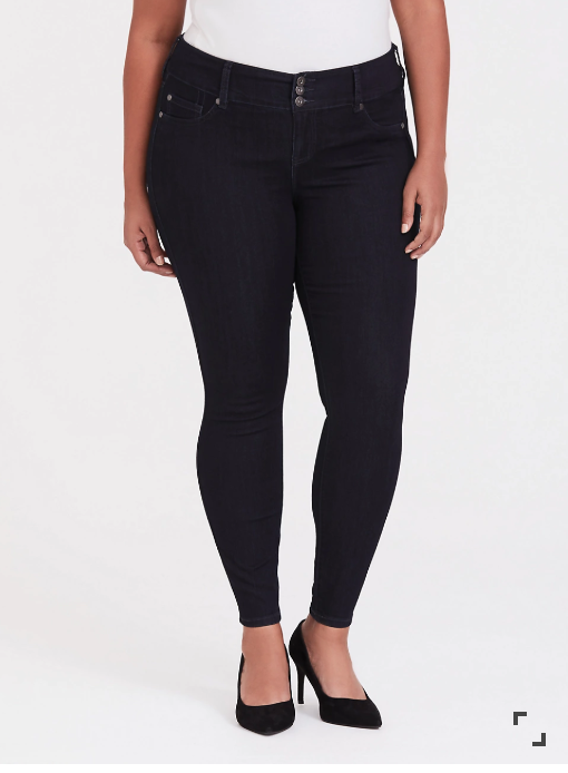 my fave brand to get plus size jeggings from