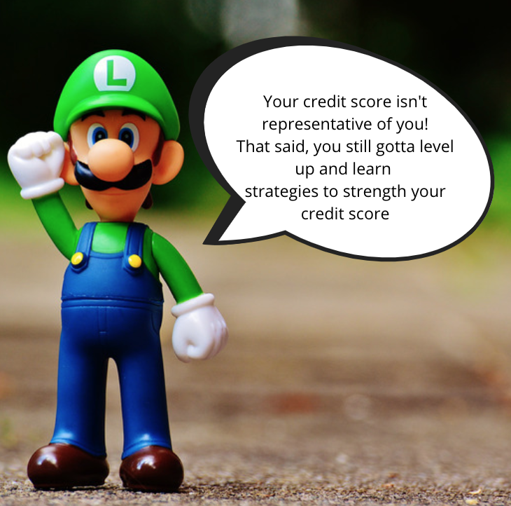 Personal finance and credit score meme