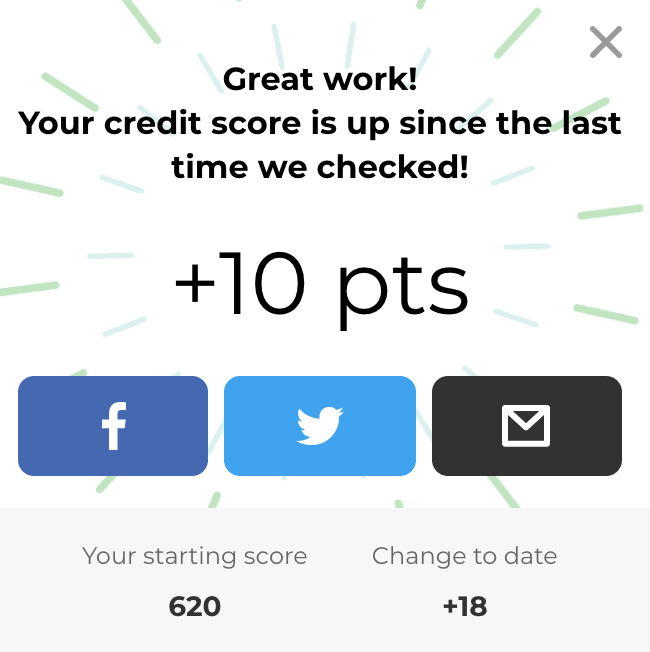 using Self.inc to raise my credit score