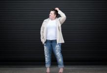 Plus size boyfriend jeans style guide