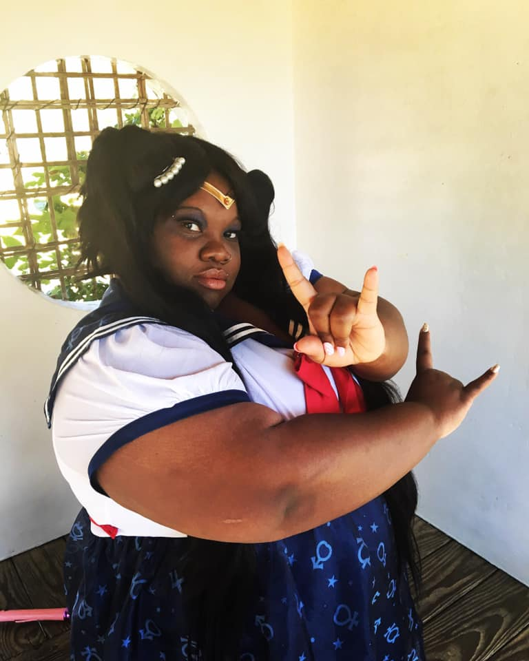 Plus Size Sailor Moon Cosplay