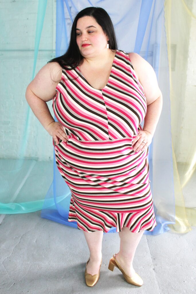 Plus size clothing made in the USA in a 6X