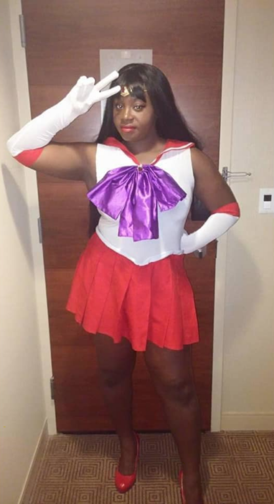 Sailor Mars by Little Black Widow Cosplay