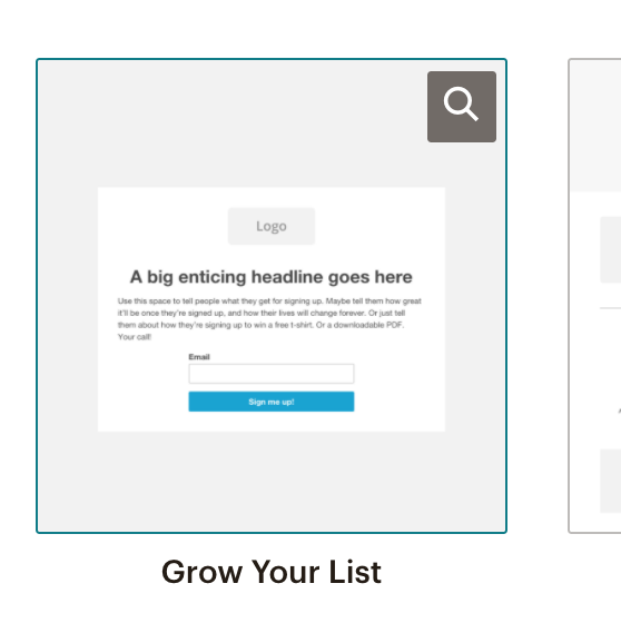 Setting up a newsletter link in MailChimp step 11