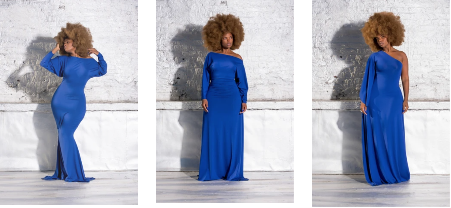 Black owned plus size fashion brand