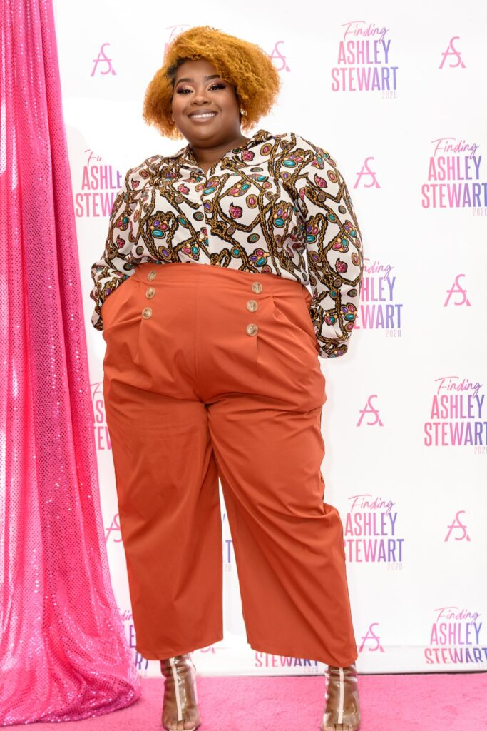 High waisted trousers in a 6X!