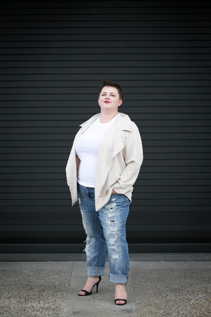 finding good quality plus size denim