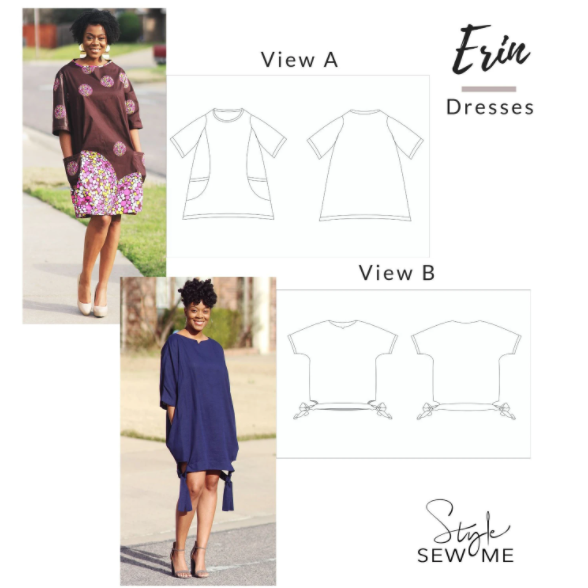 Black owned indie sewing pattern company