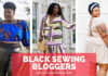 Black sewing bloggers to follow on instagram