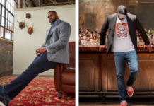 Outfit ideas for big and tall guys