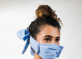 Fashion fabric face mask