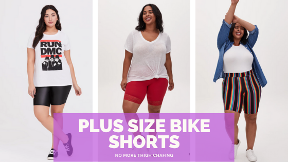 Where to buy plus size bike shorts - shopping guide