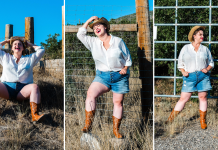 Cowgirl Style - Plus Size Fashion Editorial in Utah