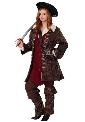 Plus Size Women's Caribbean Pirate Costume