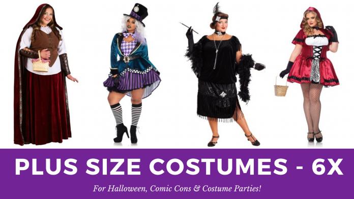 6X Plus Size Halloween Costumes