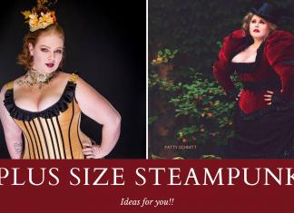 plus size steampunk costumes