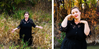 Plus size witchy fall editorial from The Huntswoman // Torrid Dress