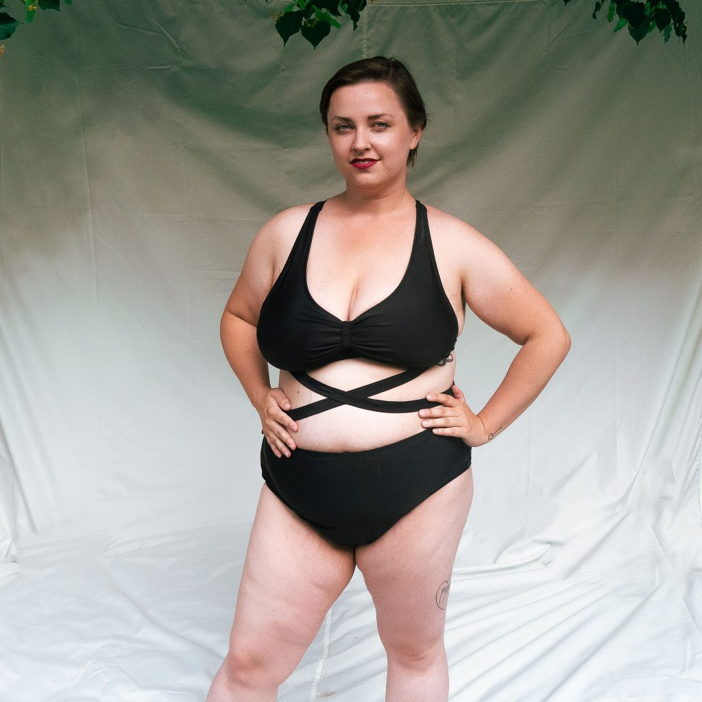 Review of plus size swimsuits sizing plus size fashion blog